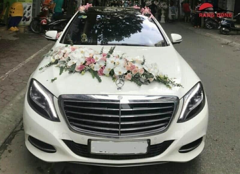 Thuê xe cưới Mercedes tại Sài Gòn