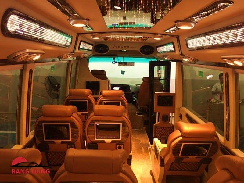 thuê xe Limousine 16 chỗ