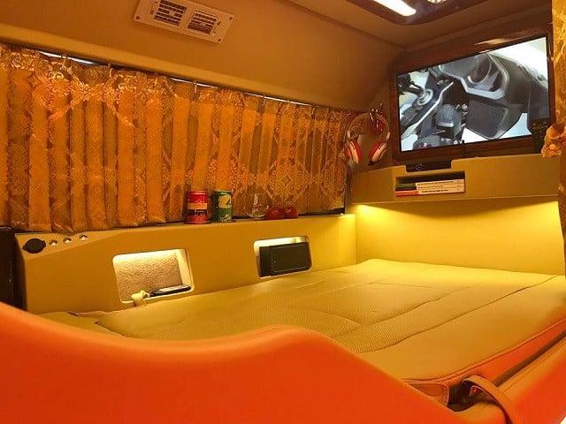 Thiết kế giường nằm limousine sang trọng. Nguồn: Internet