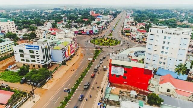 Đồng Xoài là một trong 3 thành phố trực thuộc tỉnh Bình Phước