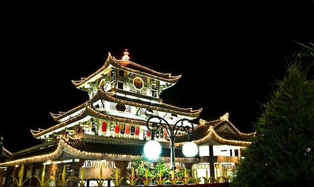 Không chỉ là một địa điểm linh thiêng mà miếu Bà Chúa Xứ cũng nổi tiếng với lối kiến trúc đẹp